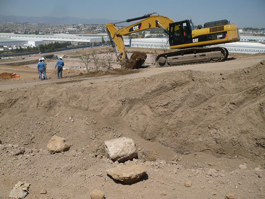 Excavación de PCA
