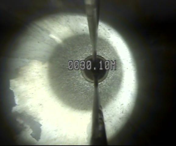 Desviación de la vertical en un pozo