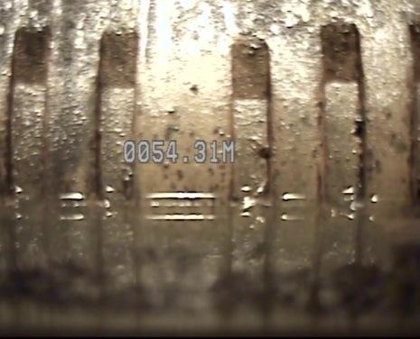 Vista lateral de Tubería ranurada en donde se localiza el Nivel Estático.